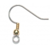 Fish Hook 2-Tone (Nickel Free) (Brass & Tin)